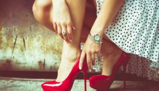 Сложете си секси обувки на първа среща - мъжете полудяват!
