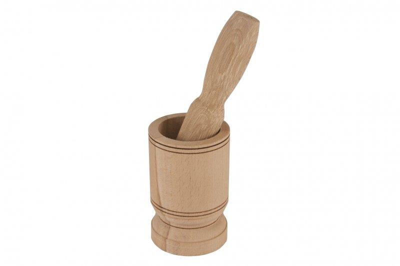 Снимка на Масивно дървено хаванче с чукало