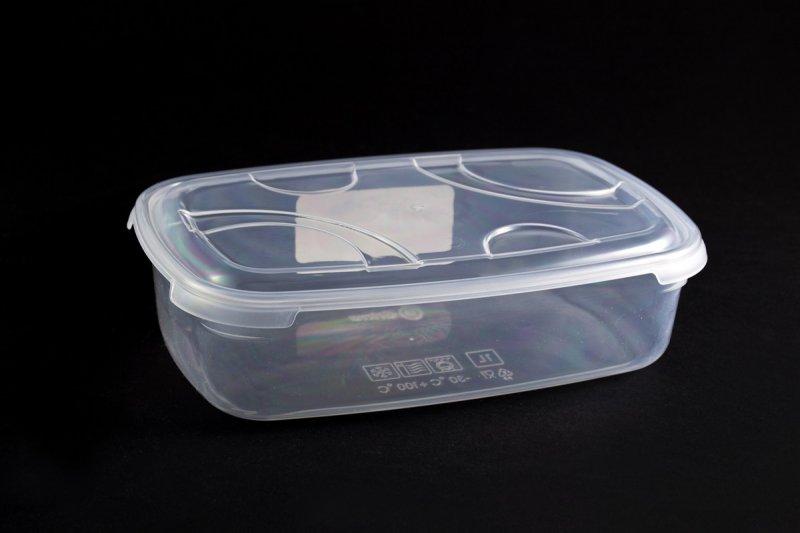 Снимка на Пластмасова кутия за съхранение на храна - 1 литър