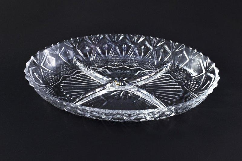 Снимка на Стъклена чиния за ордьоври, разядки и сосове
