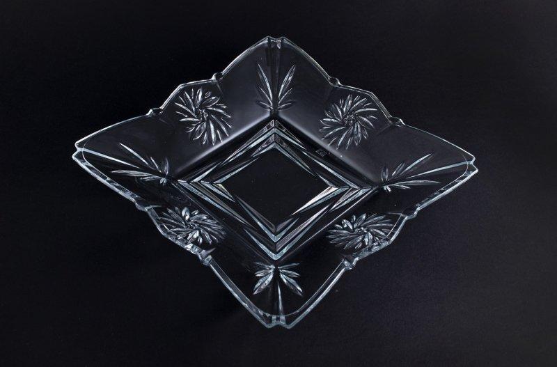 Снимка на Изискана стъклена фруктиера Tandis - 26 см