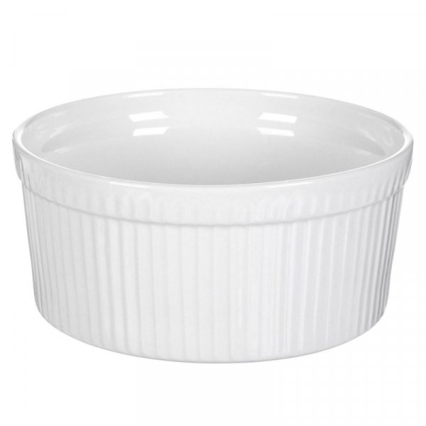 Снимка на Порцеланова купичка за суфле и брюле - огнеупорна - 8 см
