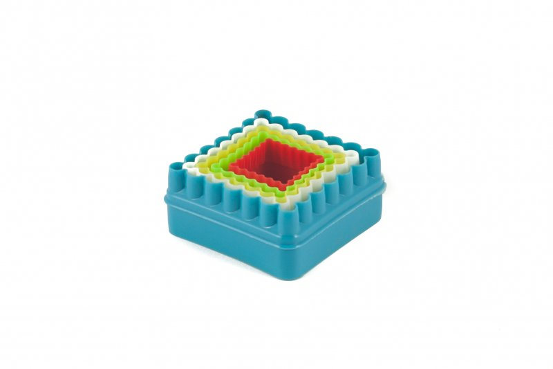Снимка на Форми за сладки  - квадратни - 5 броя