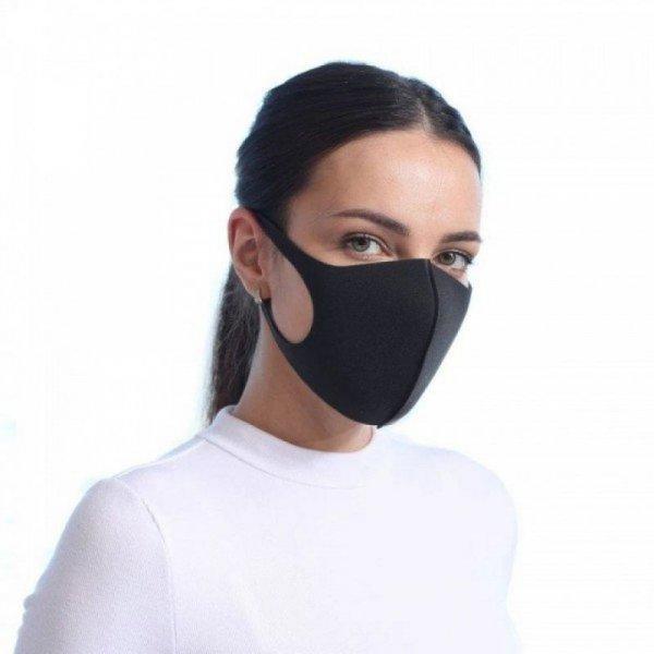 Снимка на 3 броя неопренови маски за многократна употреба