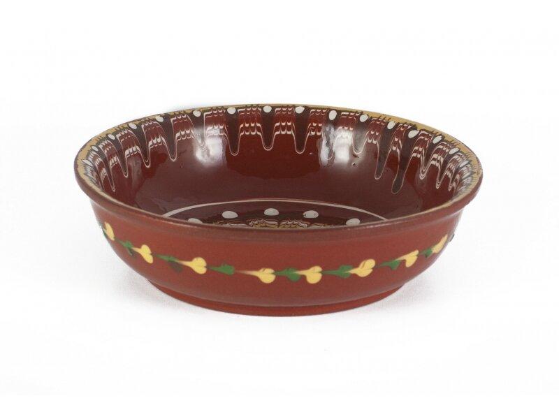 Снимка на Традиционен керамичен пахар с диаметър 20 см