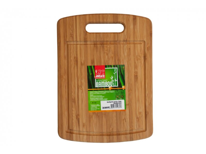 Снимка на Бамбукова дъска с борд 28 см