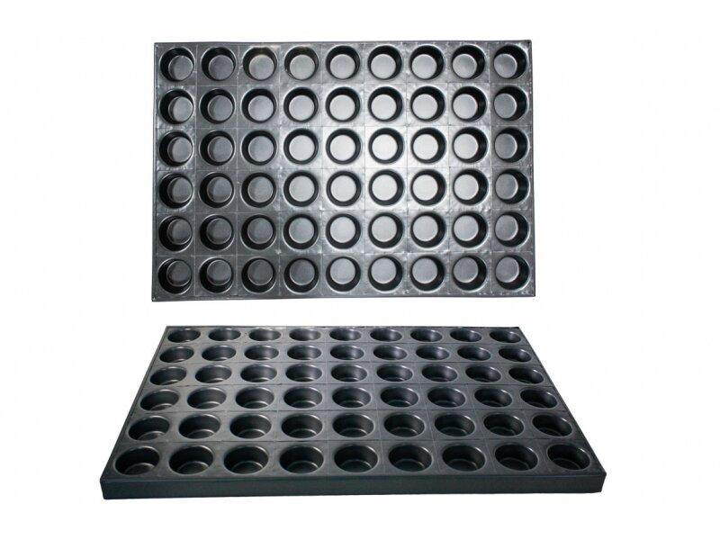 Снимка на Профи гастро форма за печене на сладки с цели 54 места