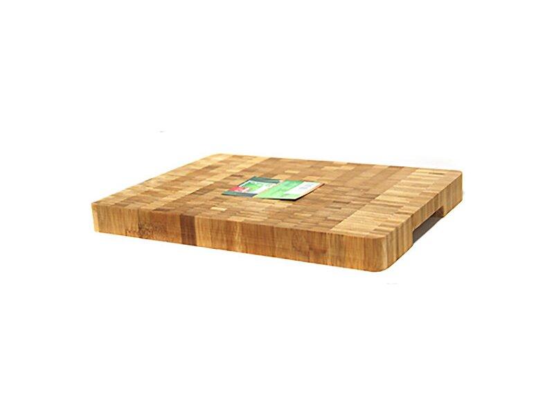 Снимка на Голяма бамбукова дъска за сервиране и рязане - 38 см