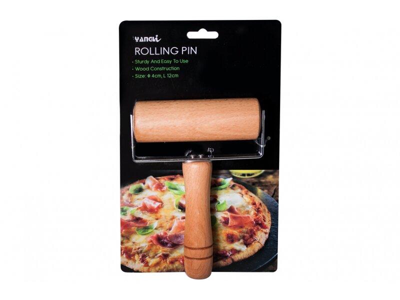 Снимка на Дървена мини точилка за пица