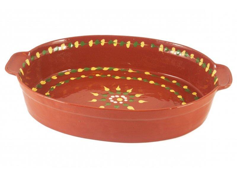 Снимка на Овална керамична тава за ценители