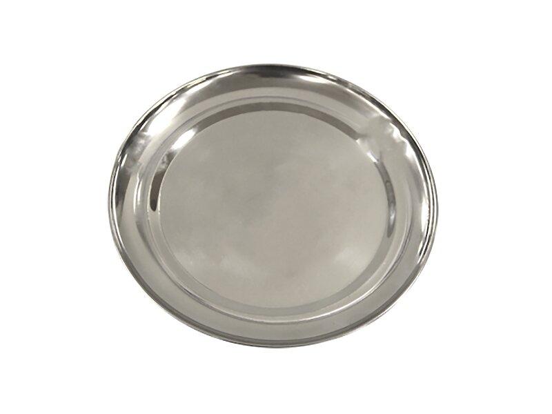 Снимка на Плитка иноксова чиния за поднасяне 24 см