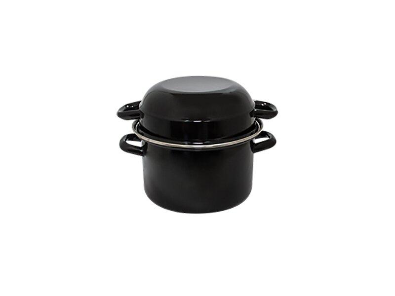 Снимка на Емайлирана тенджера за миди 24 см - 6.5 и 3 литра