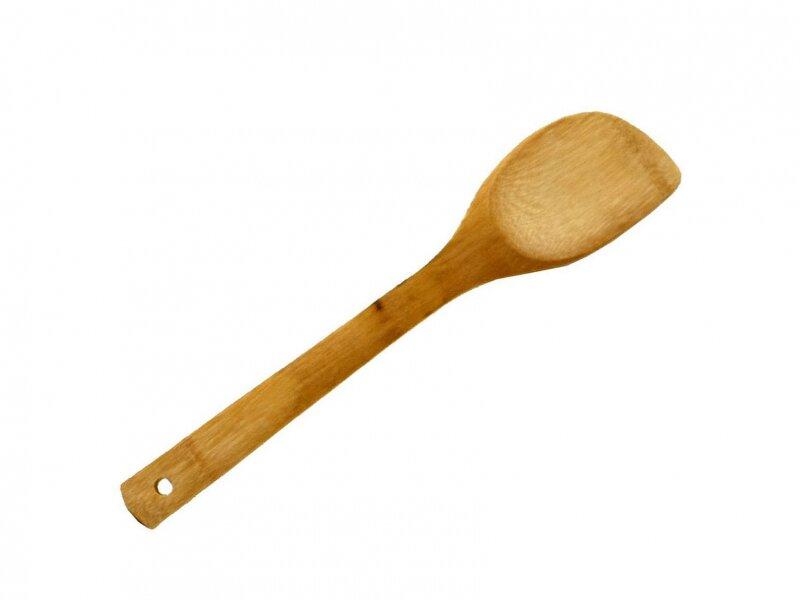 Снимка на Бамбукова шпатула 30 см