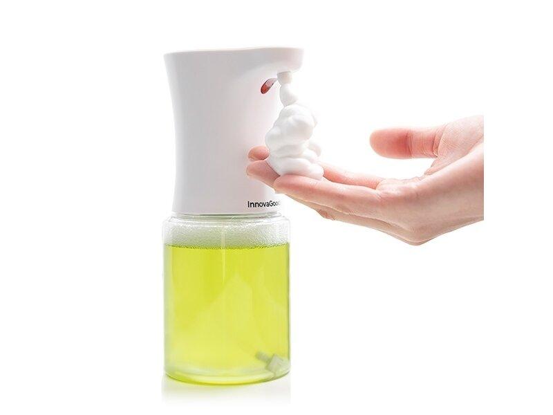 Снимка на Безконтактен автоматичен дозатор за сапун от пяна със сензор