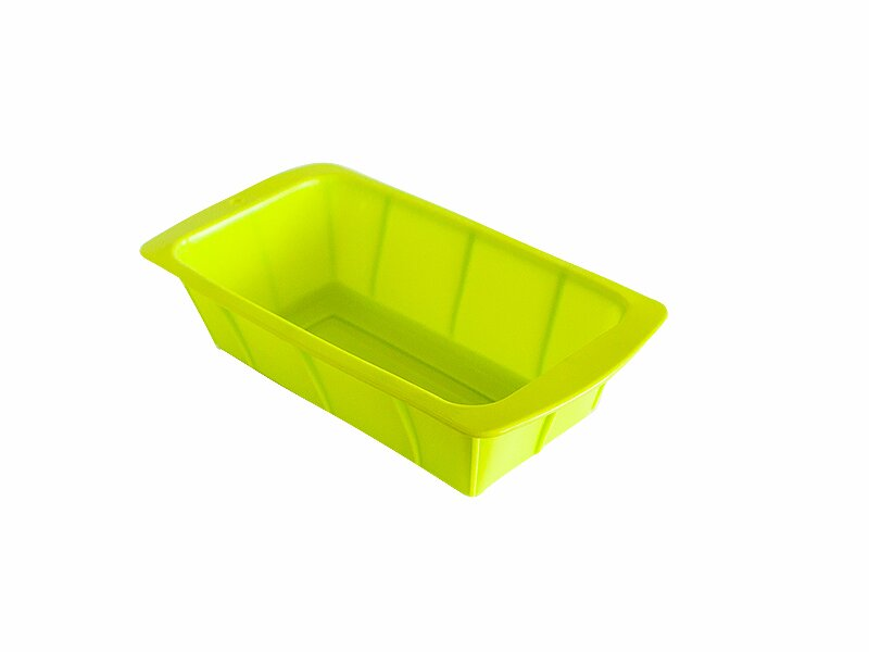 Снимка на Правоъгълна силиконова форма за кекс и хляб