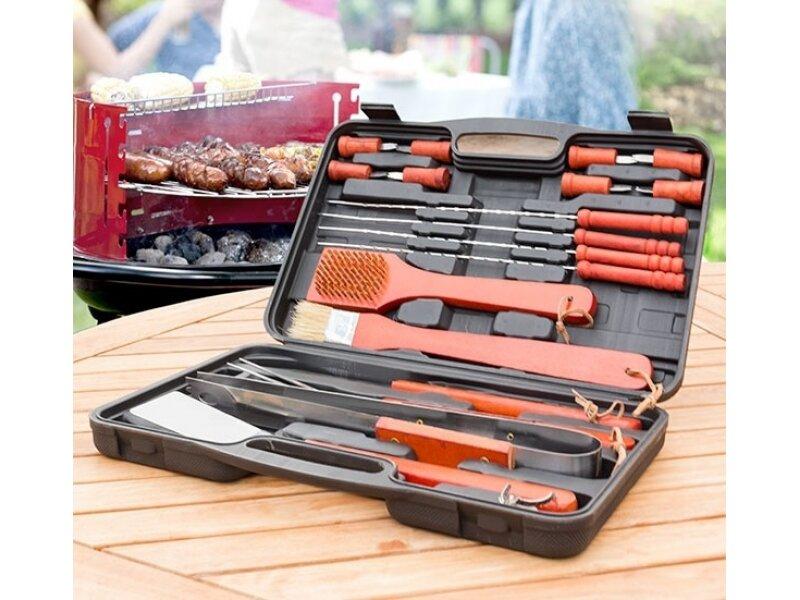 Снимка на Пълен сет за ценители с инструменти за барбекю