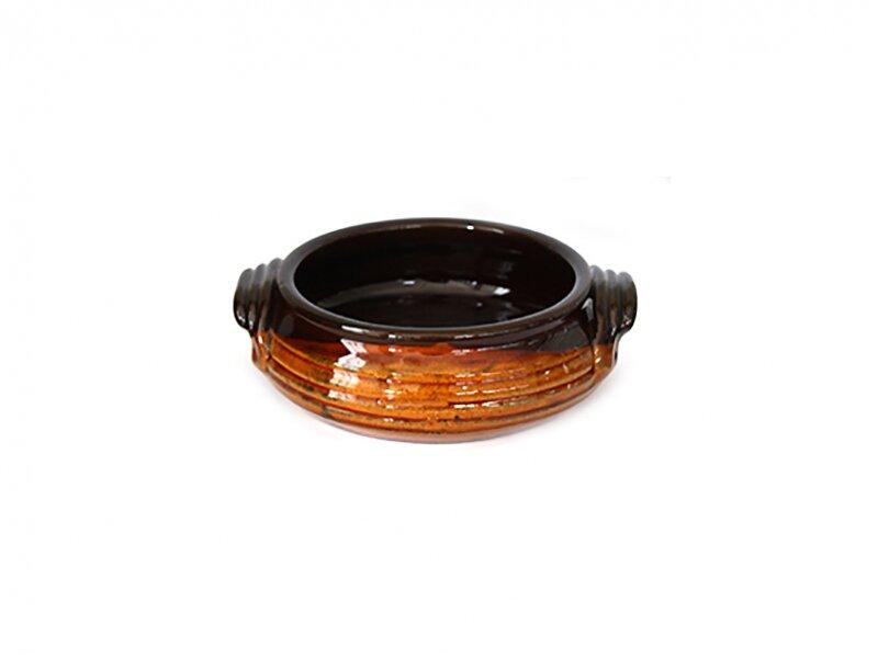 Снимка на Керамична касерола с дръжки 16см