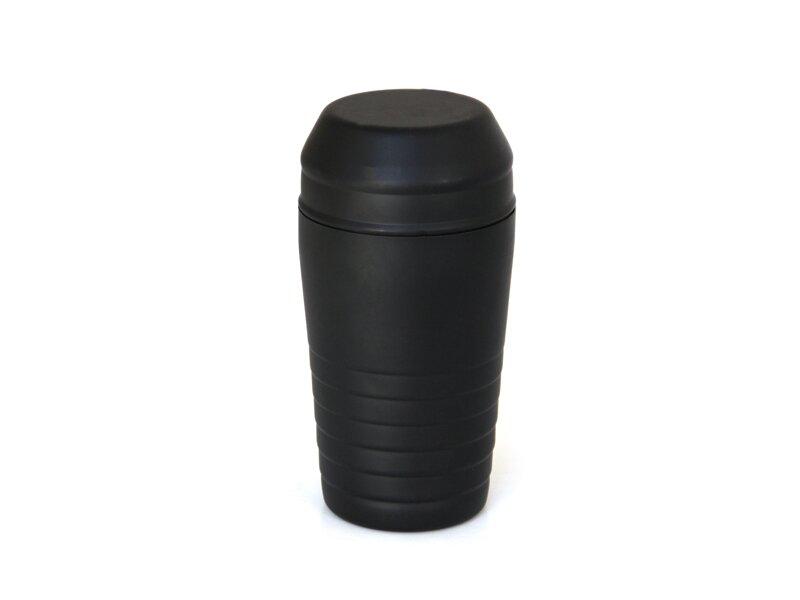 Снимка на Черен иноксов шейкър с филтър - 600мл