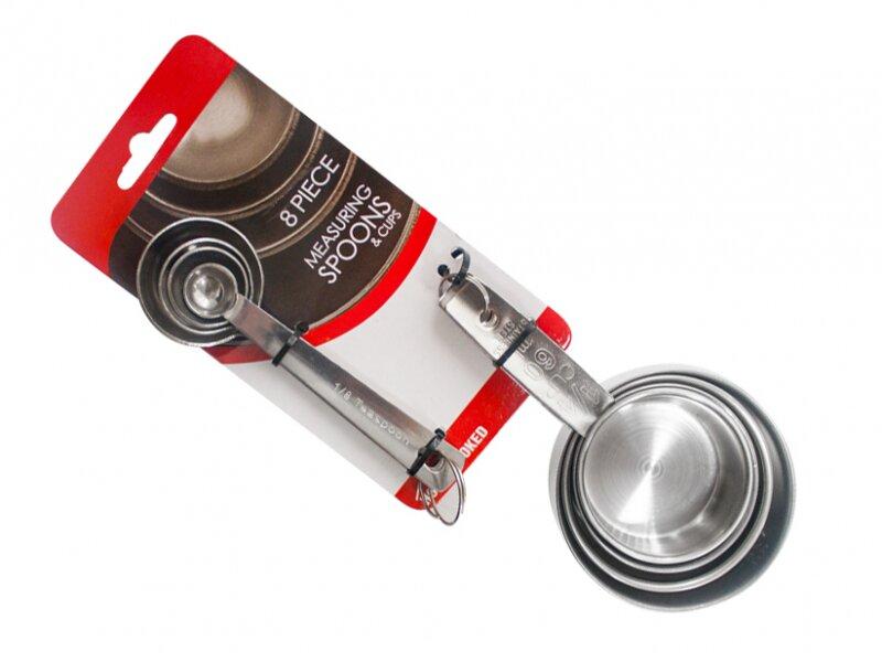 Снимка на Комплект от мерителни чаши и мерителни лъжици