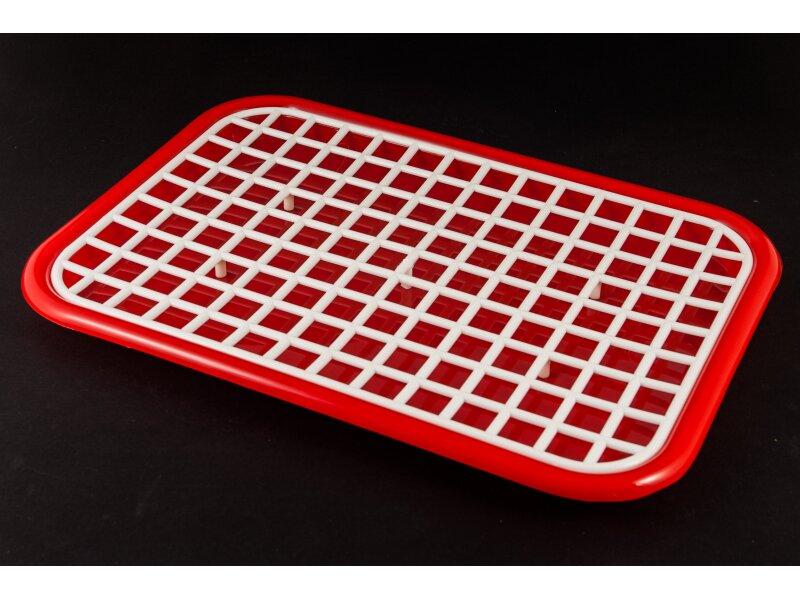 Снимка на Пластмасова табла за сушене на чаши