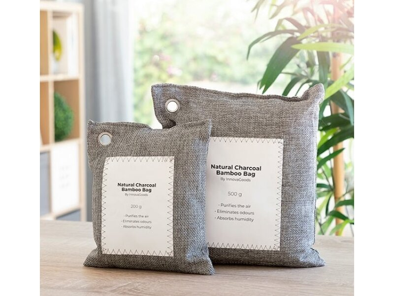 Снимка на Комплект от 2 торби за пречистване на въздуха с активен въглен