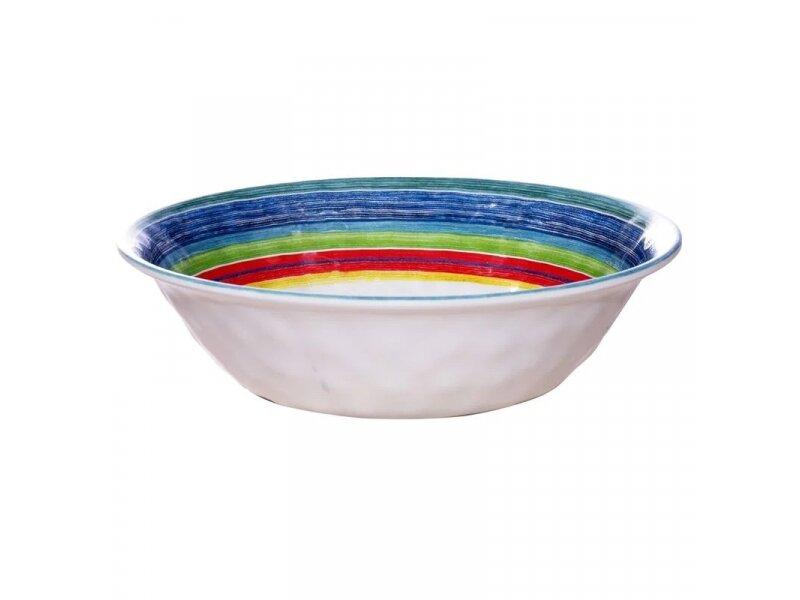 Снимка на Многоцветна меламинова купа - 535мл