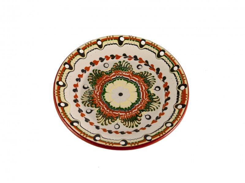 Снимка на Керамична чиния, средна, 18см