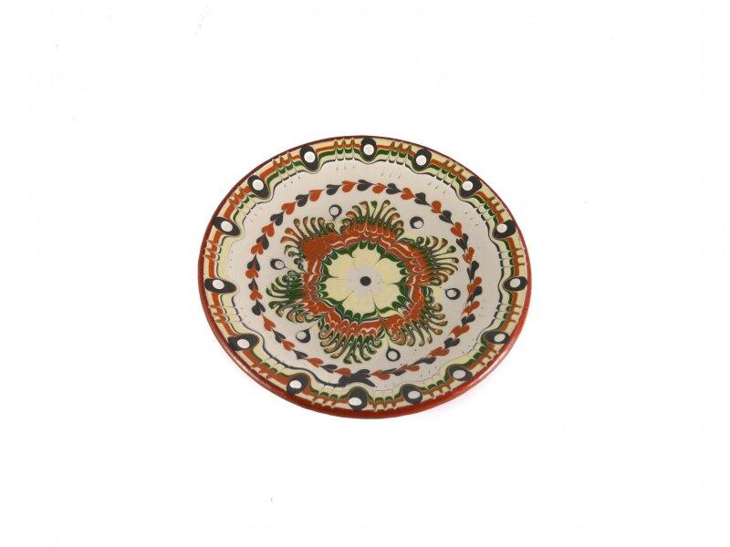 Снимка на Керамична чиния, малка, 15см