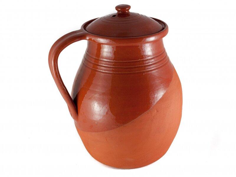 Снимка на Керамично Гърне за Боб, голямо, 5 литра