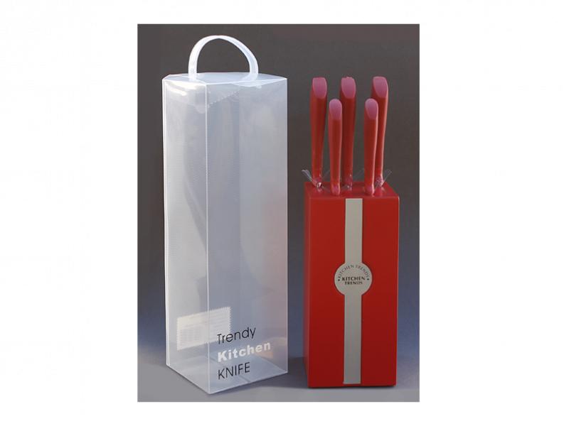 Снимка на Комплект ножове на стойка - 5 броя