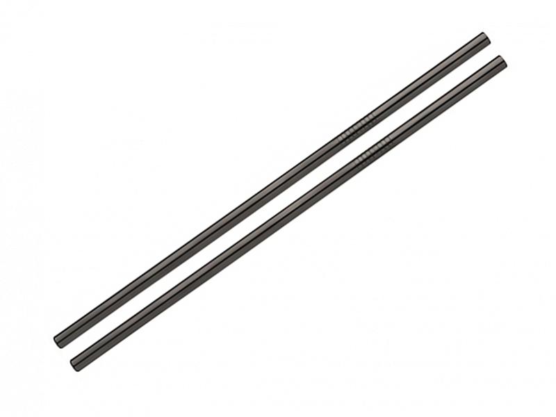 Снимка на Метални сламки, прави, комплект от 6 броя