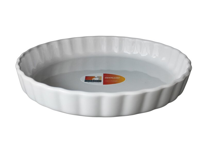 Снимка на Малка керамична форма (тортиера) за тарт и пай - 21.5 см